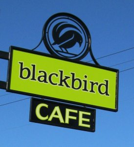 Blackbird Cafe Sign